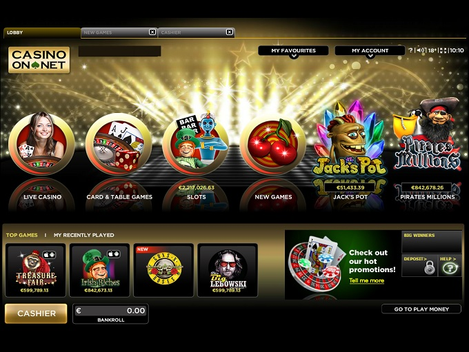 Casino on net review